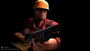 SFM Poster: The Engineer by PatrickJr