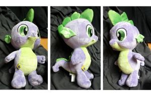 Spike Plush from Build-A-Bear Workshop by Closer-To-The-Sun