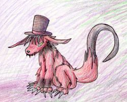 Crimsyn and his Tophat by StitchedUpZombie