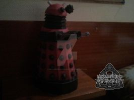 Doctor Who Dalek Papercraft by HellswordPapercraft