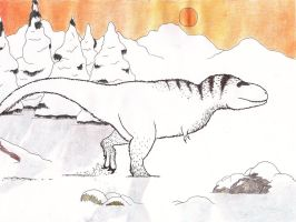 The pygmy T. rex by Dontknowwhattodraw94