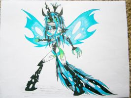 PM BLADE: King Chrysalo of the Changelings by randomgirl26