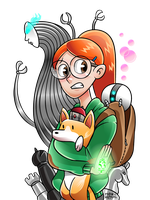 Infinity Train by iassu