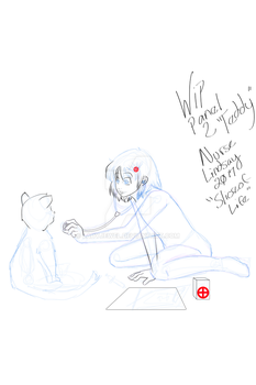Teddy - Nurse Lindsay Slice of Life Panel 2 by LadyJewel