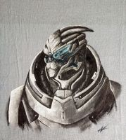 T-shirt Garrus by Wojak1991