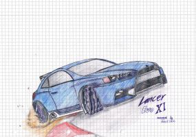 Lancer Evo XI by rob-24
