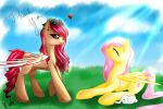 Thank you Fluttershy... by JigokuShii