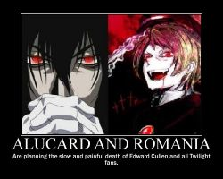 Alucard and Romania by TsukiKameGirl