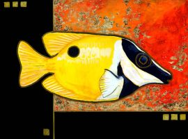 Klimt's Fish by ursulav