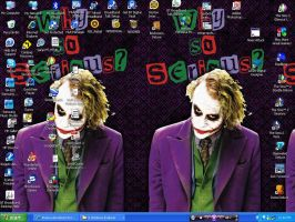 Why So Messy Desktop? by RouxWolf