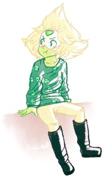 Casual Peridot by Linkerbell