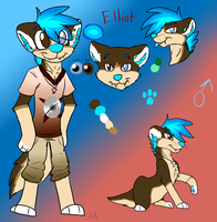 Elliot reference sheet by Letipup