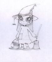 Little Witch by Taellin-San
