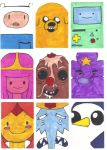 Adventure Time ATC Set 1 by Ash-neverwind