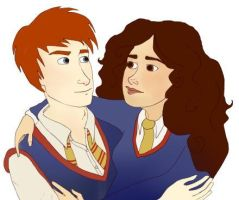 Ron and Hermione Revisited by Asolus