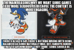 Why Sonic should be serious by Psyco-The-Frog