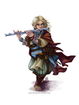 Lem - Iconic Bard from Pathfinder by BiPiCado