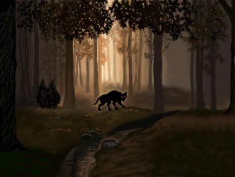 The Ghostly Dog by gothika248
