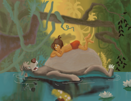 Jungle Book by Dragonite1