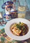 Salmon and risotto by FiorOf
