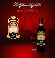 Rozommognatti Wine Label by DigitalPhenom
