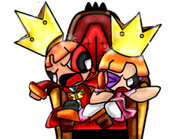 Blossick: To Share the Throne by KazunaPikachu