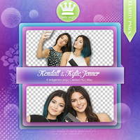 Kendall y Kylie Jenner pack png by iWillNotSurrender