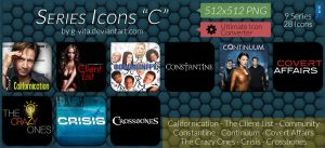 TV Series Icons C by g-Vita