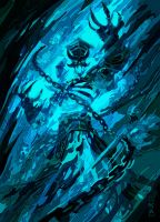 kel'thuzad blue by daylover1313