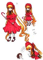 Doll of Roses Shinku - Colored by Ju-Hwa