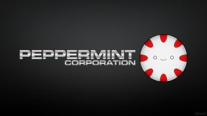 Peppermint Corporation Wallpaper by entangle