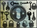Locks and Keys by flordelys-stock