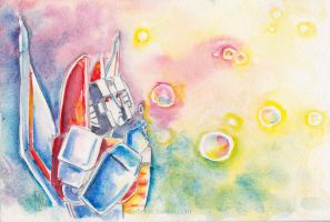 Starscream: Bubbles by The-Starhorse