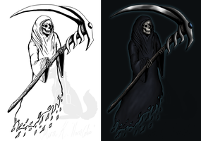 The grimreaper by Narncolie