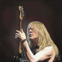 Janick Gers 2 by Windfreak