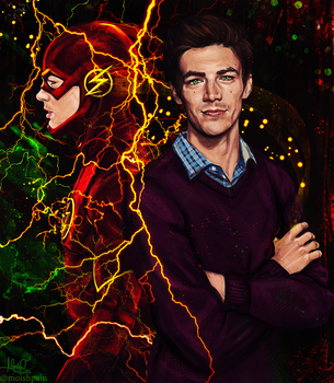 The Flash/ Barry by MoishPain