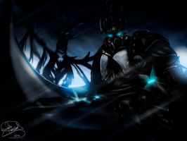 Lich king by Kinnof-Heaven