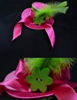 Baby neon mini top hat by FireFlyExposed