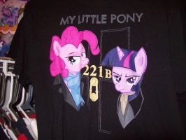 Sherlock Pony Shirt by MasteroftheContinuum