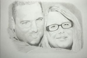 Paul with wife by MiStr8022