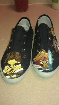 angry birds customeshoe2 by melodywinters