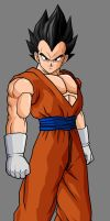 Vegeta, New Outfit by hsvhrt