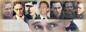 Characters from Tom Hiddleston - Facebook Cover 3. by LuluDarling