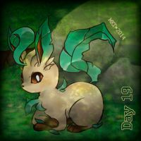 Day 19 - Favourite Eeveelution by Mikoto-chan