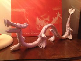3d Origami Dragon by OrigArti