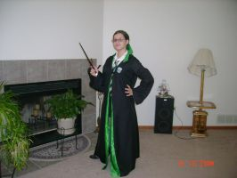 Slytherin Robes by ladykalli