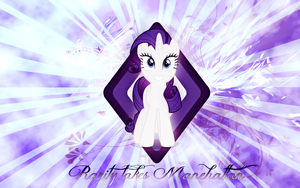 Rarity takes manehattan wallpaper by Timexturner
