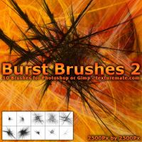 Burst Brushes 2 by AscendedArts