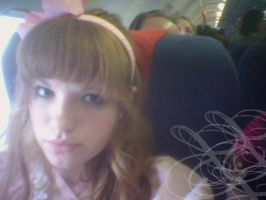On the Plane to florida by ADHD-Lolita
