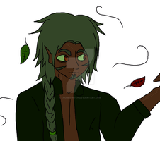 REDESIGN OF OLD OC: Xen by DarlingKnife